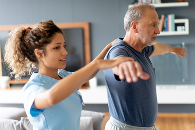 Physical therapy at Homeview